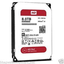 "WD 8TB Red Sata Nas Hard Disk Drive 3.5"" 6 Gb/s 64MB Cache 8 TB Western Digital"