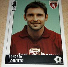 AGGIORNAMENTO FIGURINE CALCIATORI PANINI 2006/07 TORINO ARDITO ALBUM