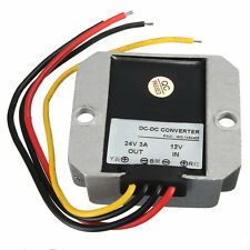 DC-DC 12V Step Up to 24V 3A 72W Car Power Converter Regulator ED