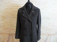 H&M WOMENS DOUBLE BREASTED FULL LENGTH WINTER COAT  SIZE  14   REF  2780
