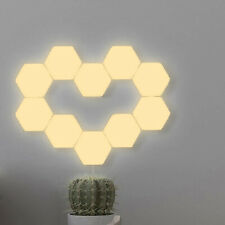 LED Night Light Hexagonal Modular Quantum Lamp Touch Sensitive Magnet Wall Decor