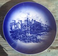 ROYAL STAFFORDSHIRE POTTERY WILKINSON ENGLAND PLATE CONWAY CASTLE, Ca 1907