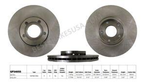 Disc Brake Rotor-Base Front Best Brake GP34055