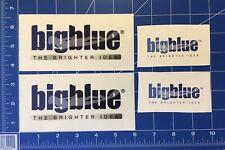 Lot 4 Bigblue Lighting Scuba Diving Glossy Dive Light Flashlight Sticker Decal