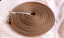 15m tan ribbed webbing