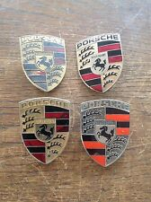 JOBLOT OF ORIGINAL PORSCHE 911 HOOD CREST BADGES 70's *RARE