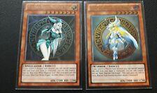 YuGiOh Blue-Eyes Magician Girl + Dark Magician Girl Knight Ultimate Rare Orica