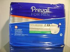 "PREVAIL FOR MEN ADULT DIAPER UNDERWEAR  SIZE SMALL-MEDIUM 28""-40"" 20 PACK SET 3"