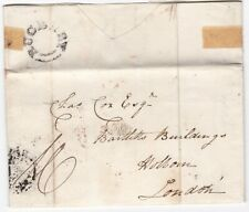 # 1832 UDC RUGELEY PMK LETTER CAPt W? HOLLAND TO COX ROYAL MARINES LONDON AGENT