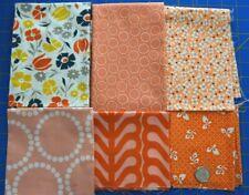 Denyse Schmidt Flea Market Fancy Medallion Fabric in Red PWDS020 100/% Cotton