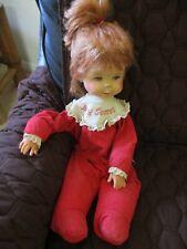 "Vintage 1965 Mattel 17"" BABY SECRET Whisper/Talk Doll, No String. Sold as is,TLC"