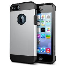 Smart Protectors! étui rigide Armor Coque 2 Teilig pour iPhone SE/5/5S Argent