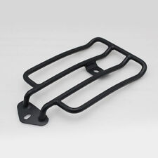 Black Seat Luggage Rack For Harley Sportster XL883 XL1200C 2004-2013 2005 2006