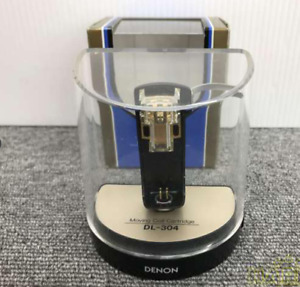 DENON DL-304 MC Moving Coil Stereo Phono Cartridge USED JAPAN nippon columbia