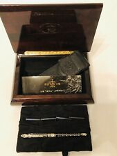 Duke 14k White Gold Fountain Pen In Case MSRP 329.00