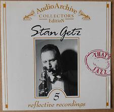 5 reflective Recordings - Stan Getz - Audio Archive - CD