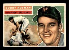 1956 Topps #28 BOBBY HOFMAN GB VG *9y