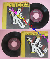 LP 45 7'' THE BROOKLYN BRONX& QUEENS BAND On the beat Lovin's what no cd mc dvd