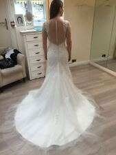 Regular Size Satin Mermaid & Trumpet Wedding Dresses