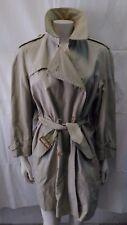 giacca jacket trench donna impermeabile cotone Burberry's veste fino alla tag 46