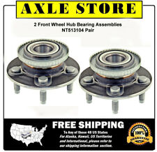 2 New Front Wheel Hub Bearing Assembly Fit Crown Victoria Town Car Grand Marquis