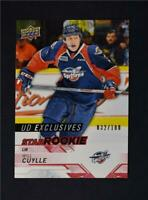 2018-19 UD Upper Deck CHL Star Rookies Exclusives #322 Will Cuylle /100