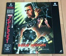 Japan Laserdisc Blade Runner Director's Cut Harrison Ford Wide Screen W/Obi