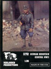 Verlinden Productions 1:35 WWII German Mountain General - Resin Figure #1172