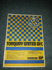 Torquay United v Burnley, 1976-77, League Cup