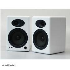 Audioengine A5+ White Speakers Active Bookshelf Desktop Compact - Immaculate