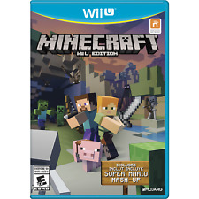 Minecraft: Wii U Edition (Wii U, 2016)