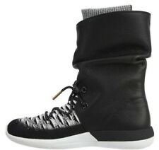 Nike Wmns Roshe Two Hi Flyknit Boots Black White Ladies Uk 6 861708 002 Bnib