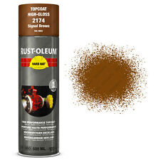 x15 Industrial Rust-Oleum Signal Brown Spray Paint Hard Hat 500ml Ral 8002