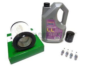 Oil & Air Filter Spark Plugs 5L Engine Oil Service For Honda CR-V 2.0 Mk2 02-06