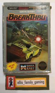 BreakThru Break Thru Original Nintendo NES Game BOX Only - Ships Fast