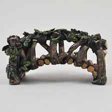 Mini Fairy Garden Wooden Bridge Miniature Decor Pixie Elf Magic Accessory 39601