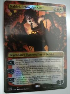 Magic MTG - Zendikar Rising - Nahiri, Erbin der Alten - Full Art FOIL