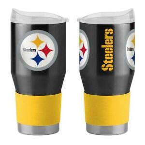 Pittsburgh Steelers 24 oz Ultra Travel Tumbler - Free Ship Go Steelers