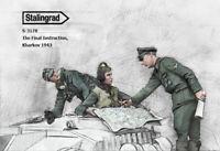 1/35 scale resin figure kit WW2 The Final Instruction, Kharkov 1943 Stug crew
