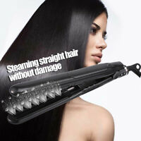 Professional Argan Oil Salon Steam Styler Flat Iron Ceramic Hair Straightener ÖÖ