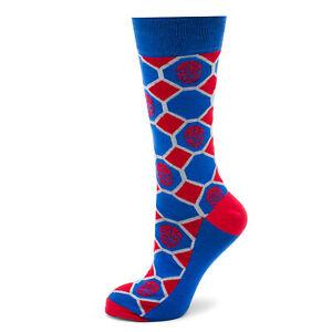 Marvel Spider-Man Blue Checker Socks