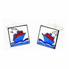 Gemelli Nave Da Crociera Rosso da Sonia Spencer, articoli da regalo in scatola. BARCA, Crociera, prezzo consigliato £ 20