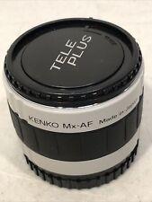 KENKO Mx-AF 2X TELEPLUS PRO 300 DIGITAL AF SONY MINT CONDITION