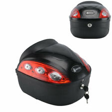 24L Motorradkoffer Top E-Bike Elektro Roller Stamm Helm Hard Tail Box Gepäck