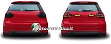 Coppia Fanali Posteriori Tuning GOLF V 5 FULL LED ROSSO FUME' GTI LOOK 2003-2008