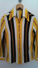 Vintage, late 60s early 70s Striped blouse