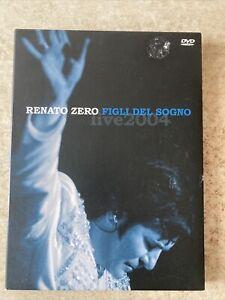 Renato Zero Figli Del Sogno Live 2004 Dvd Ediz. Cartonata Fuori Catalogo