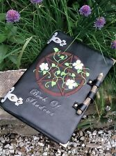Personalised Embroidered Book of Shadows Journal 3 Designs Pagan Wiccan Witch