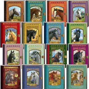 Horse Diaries 1-16 Elska,Bell's Star,Golden Sun,Luna,Koda,Cinders...(Paperbacks)