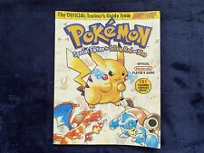 Pokemon special edition strategy guide WOW STICKERS!!!!